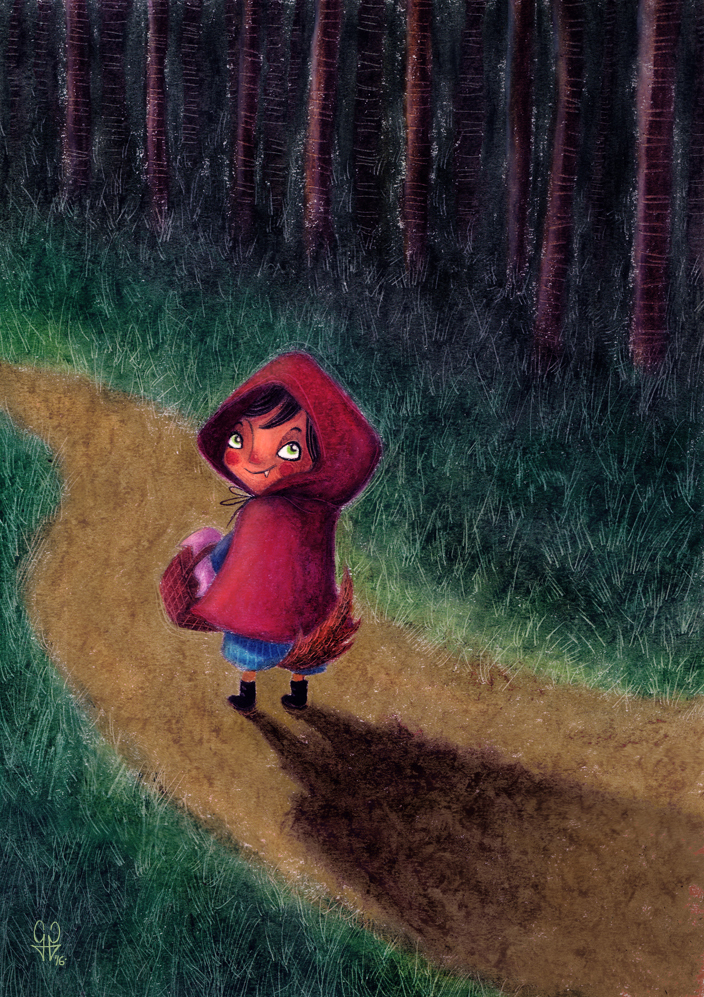 Little red riding wolf B